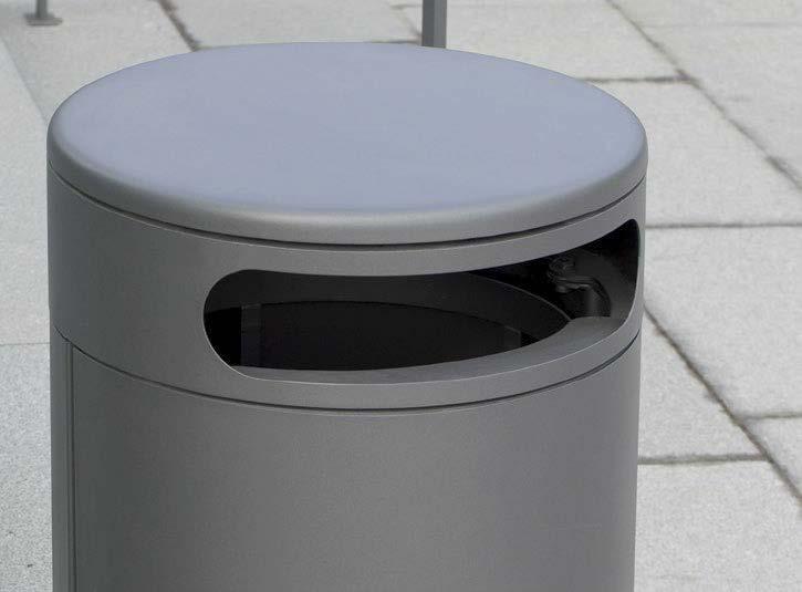 BECK CityRund sarja A7F roska-astiat