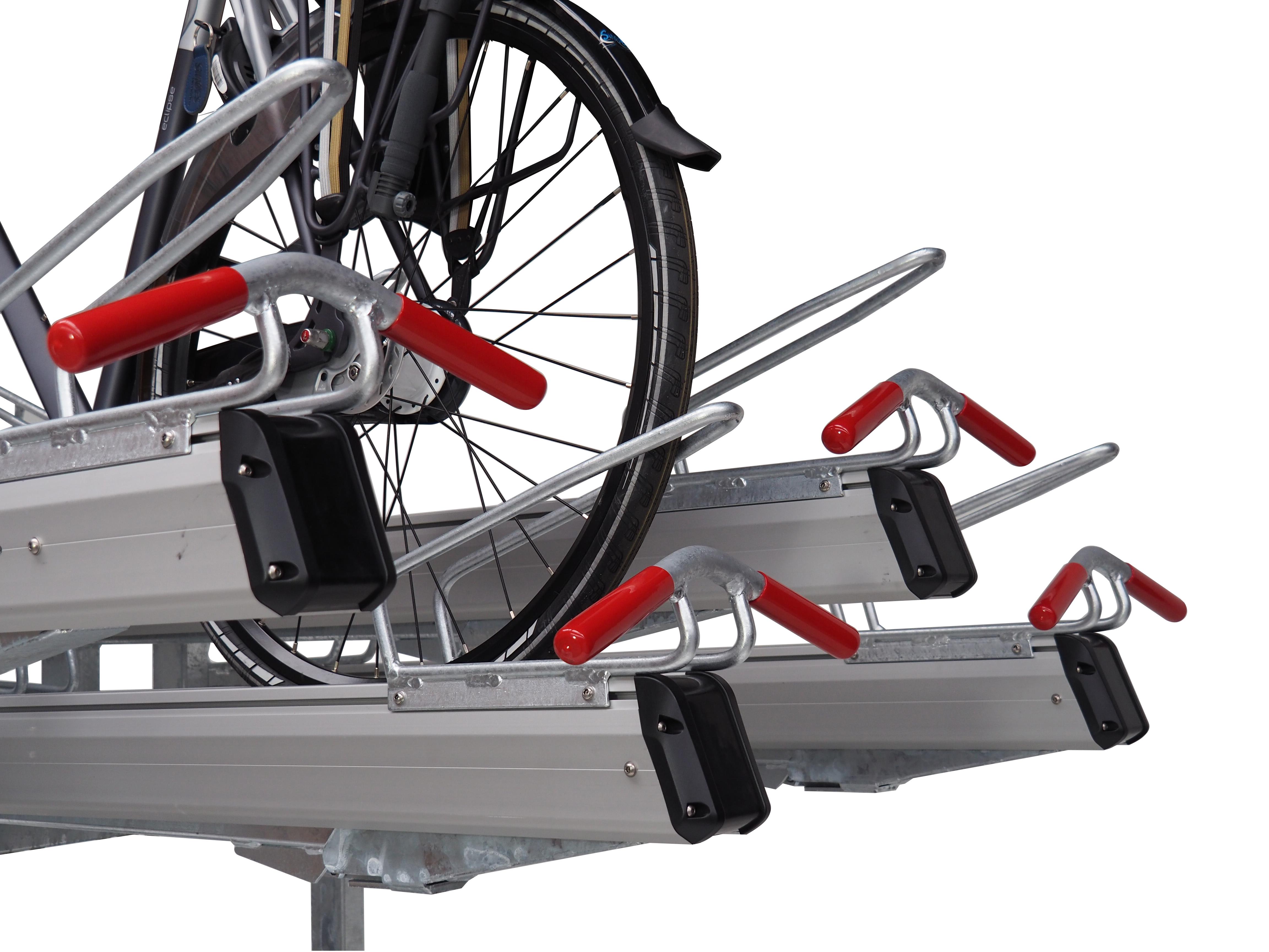 FALCO Level Premium+ kakskikerroksinen polkupyöräteline